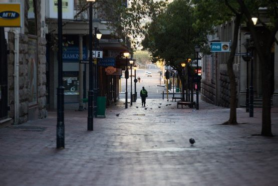 The streets of Cape Town were eerily quiet on the first day of the March 2020 lockdown. Archive photo: Ashraf Hendricks