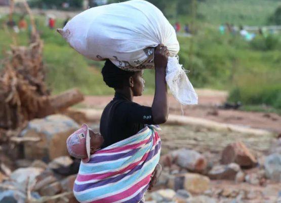 Grants were found to help improve the health, including mental health, of women. Image: EFE-EPA/Aaron Ufumeli