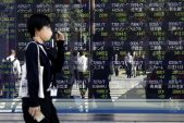 Stocks dip from record as dollar, yields edge up: markets wrap