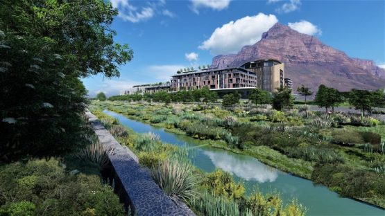 An artist's impression of part of the River Club development in Observatory, near Woodstock. Image: River Club Website