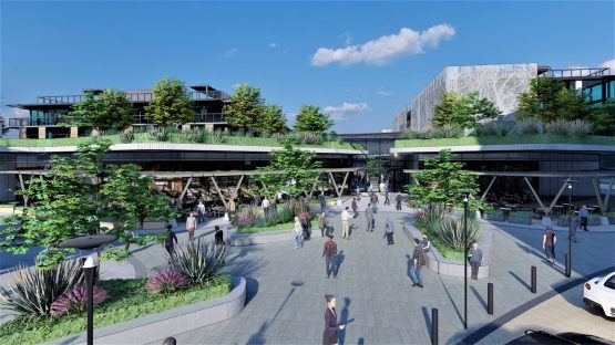 There will be over 20 000m2 of retail space at River Club. Image: River Club Website