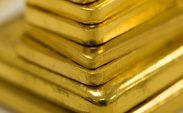 Gold rises near four-month high as bond yields, dollar decline