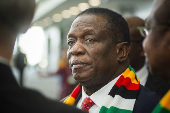 Emmerson Mnangagwa, Zimbabwe's president. Image: Bloomberg