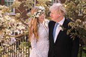 Boris Johnson marries fiancee in secret ceremony in London