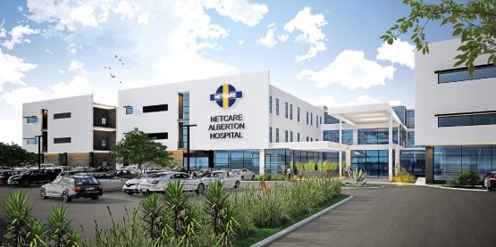 An artist's impression of the R400m Netcare Alberton Hospital, which is due to open next year. Image: Supplied