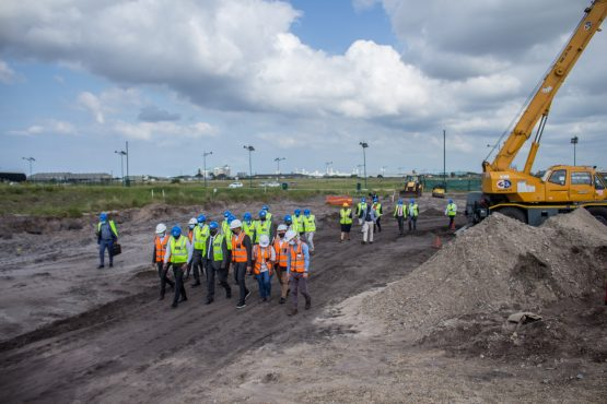Grinaker-LTA has commenced construction on the first phase of the Nyanza Light Metals complex at the Richards Bay Industrial Development Zone. Image: Supplied