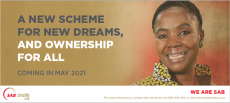 A new B-BBEE scheme offering from SAB