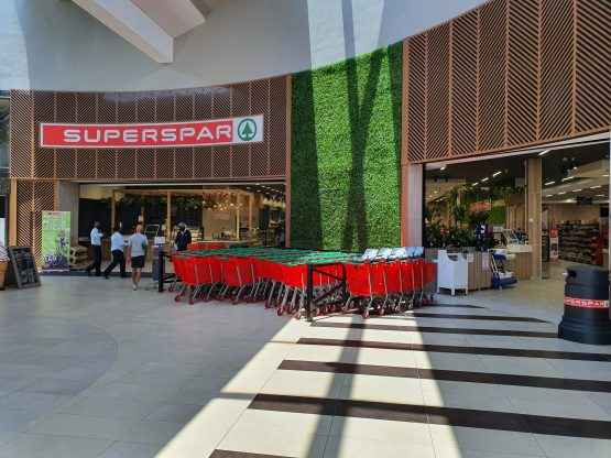 One of Spar Group's Superspar retail franchise stores in South Africa. Image: Suren Naidoo, Moneyweb