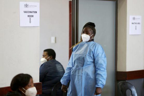 Covid-19 has exposed the low budget allocations to public healthcare on the continent. Image: Siphiwe Sibeko, Reuters