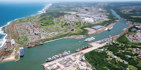 The Port of East London may be in line for a capacity increase and a deepening of the harbour to allow bigger vessels to enter. Image: Transnet website