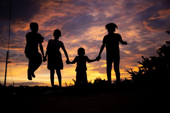 Toxic stress has long term impacts on the overall well-being of children. Kwame Amo/Shutterstock