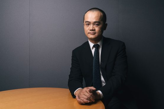 Wang Xing, chairman, chief executive officer and co-founder of Meituan Dianping. Image: Bloomberg