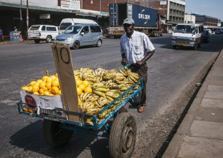 After two years of three digits, Zimbabwe inflation drops to 56%