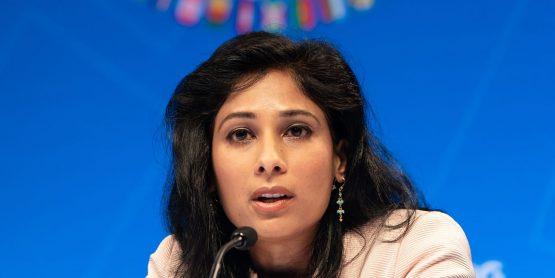 Gita Gopinath. Image: Joshua Roberts/Bloomberg