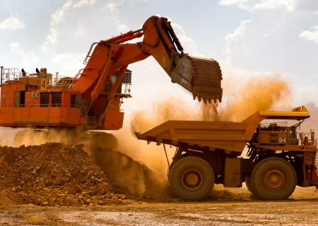 Iron ore falls to two-month low