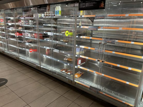 With delivery app orders fulfilled at store level, stock shortages in stores will impact on orders. Image: Supplied