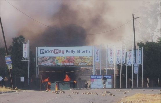 Last week's civil unrest 'had a significant impact on the group's operations in the affected areas – particularly in KZN. Image: Supplied