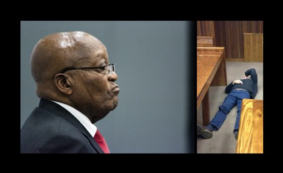 Both reached the top in their respective fields, and both are now running out of wriggle room in their legal battles. Images: Waldo Swiegers/Bloomberg (Zuma); Moneyweb (Porritt)