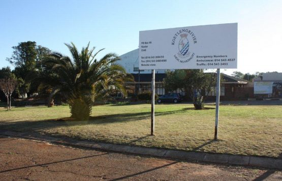 The municipal manager was given a jail sentence last year, suspended on condition that raw sewage spilling into two rivers be cleared up within days. It was – but by the residents. Image: Kgetlengrivier Local Municipality website