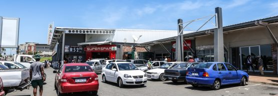 Vukile's KwaMashu Shopping Centre, seen here before suffering significant structural damage, is only expected to return to full operation in Q2 next year. Image: Supplied
