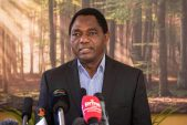 Zambian president tells creditors in a tweet their money's safe