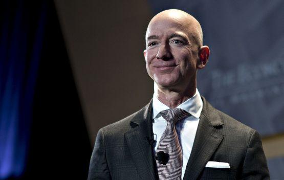 Jeff Bezos. Image:  Andrew Harrer/Bloomberg
