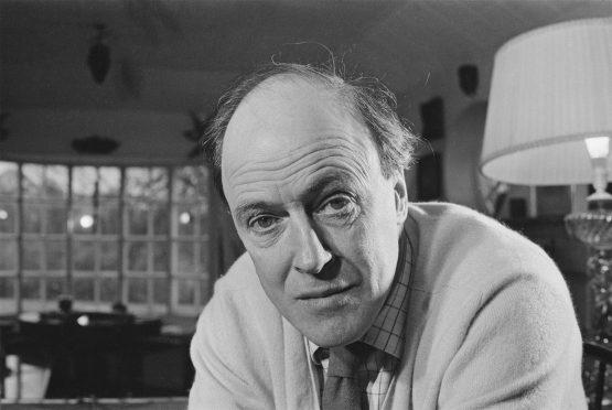 British novelist Roald Dahl (1916 - 1990), UK, 10th December 1971.  Image: Ronald Dumont/Daily Express/Getty Images