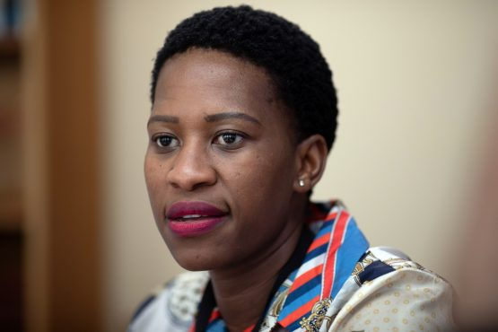 Tshepiso Moahloli, the head of assets and liability management and the most high-profile woman at the Treasury, last week became the latest senior official to resign. Image: Bloomberg