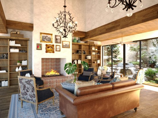The lounge area of the Southern Sun de Wagen, a new hotel property Tsogo Sun Hotels is managing for Remgro and the Rupert family in Stellenbosch. Image: Supplied