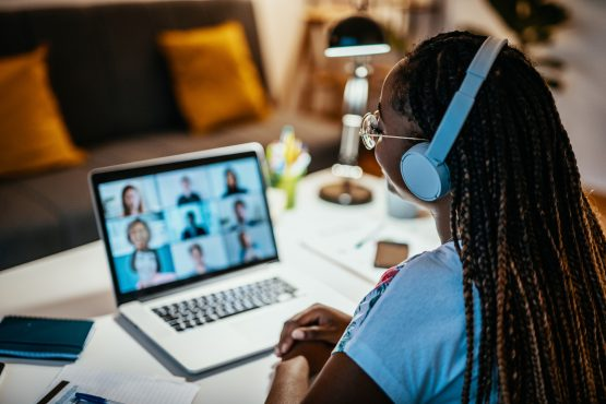 African American female student studying from home during lockdown Emergency remote learning shouldn't be confused with carefully crafted online curricula. Image: Getty Images