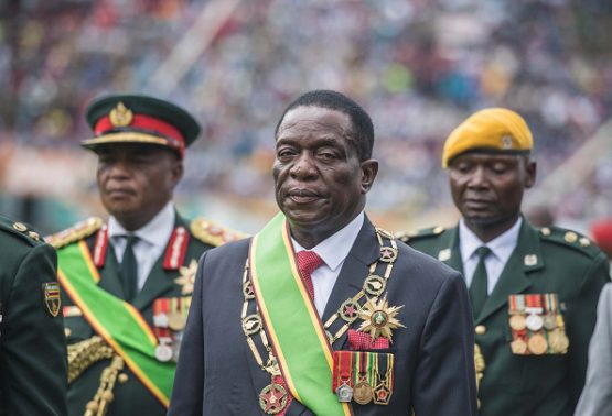 The militarisation of the Zimbabwean government raises serious questions about who really wields political power - President Emmerson Mnangagwa or army leaders. Image: Mujahid Safodien/AFP via Getty Images