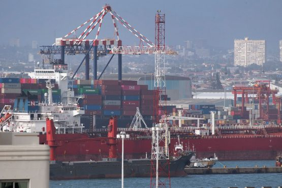 State-owned enterprises, such as Transnet, which runs South Africa's ports, loom large over the economy. Image: Getty Images