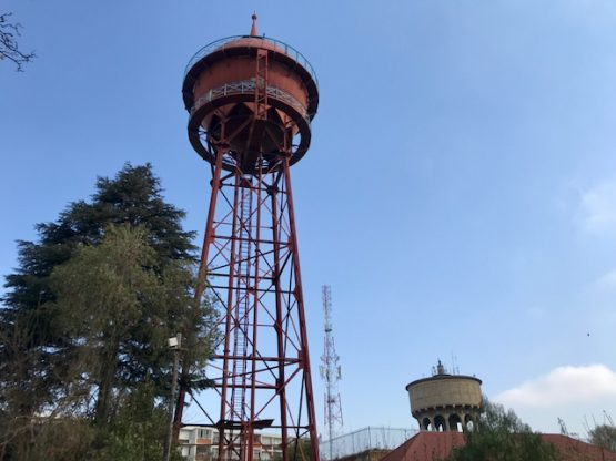 The Yeoville water tower in Johannesburg. Ageing infrastructure and demand outstripping supply are blamed for Johannesburg's recent water woes. Image: Masego Mafata