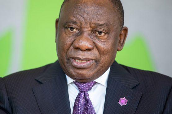 Image: Cyril Ramaphosa Photographer: Simon Dawson/Bloomberg