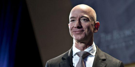 Jeff Bezos. Image: Bloomberg