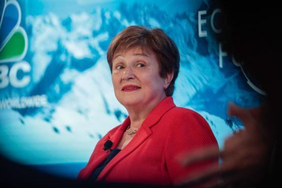 Kristalina Georgieva, managing director of the International Monetary Fund (IMF). Image: Bloomberg