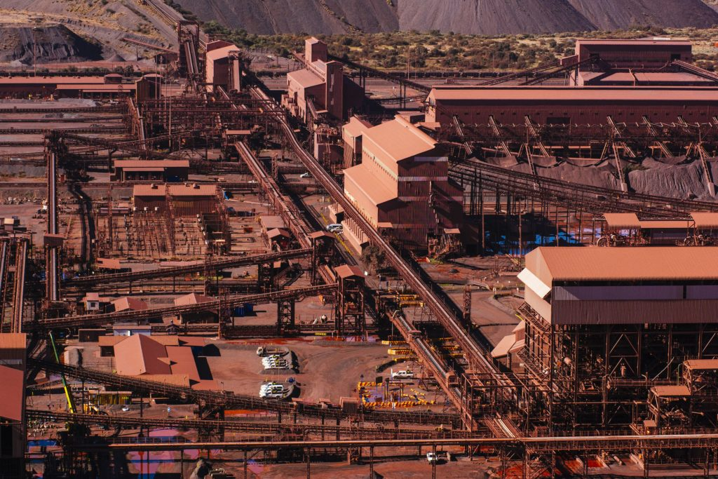 Coal and iron pile up in SA on rail constraints