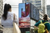 China tech stocks slump