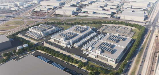 An artist's impression of what the data centre campus will look like once fully developed. Image: Supplied