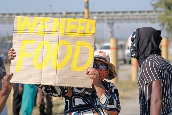 Food insecurity is a daily reality for millions of South Africans. Community organisations can help. Image: Dino Lloyd/Gallo Images via Getty Images