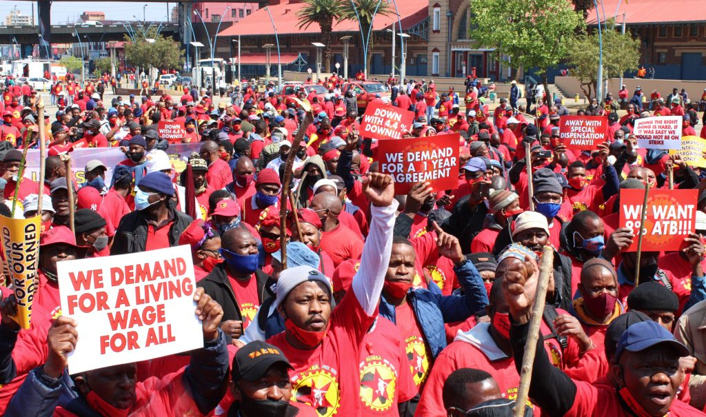 SA steelworkers back pay deal to end protracted strike